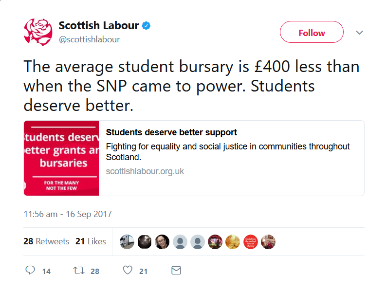 Mature student scotland funding